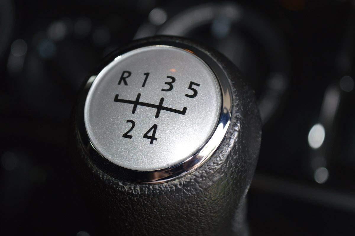 veedubtransporters T5 & T5.1 Facelift 5 Speed Silver Gear Knob Cap