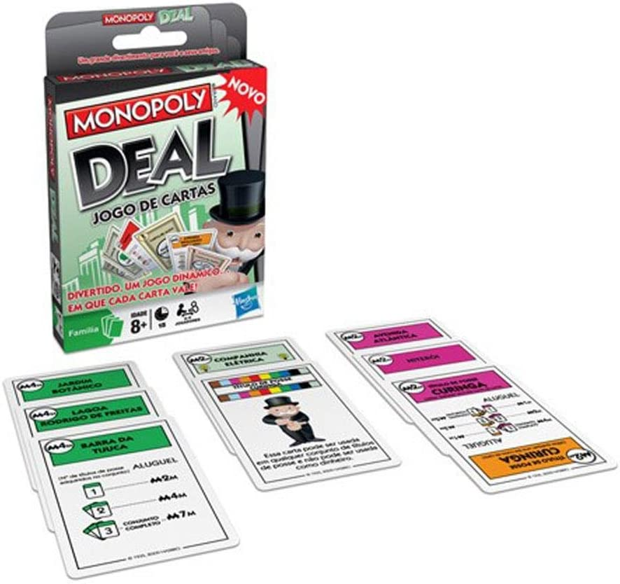 Hasbro Monopoly Juego de Cartas: Amazon.es: Juguetes y juegos