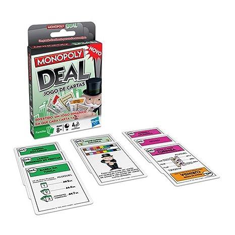 Hasbro Monopoly Juego de Cartas