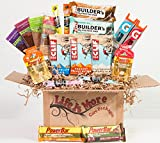 Workout Care Package / Health Food Basket - Energy - Protein Bars - Recovery
