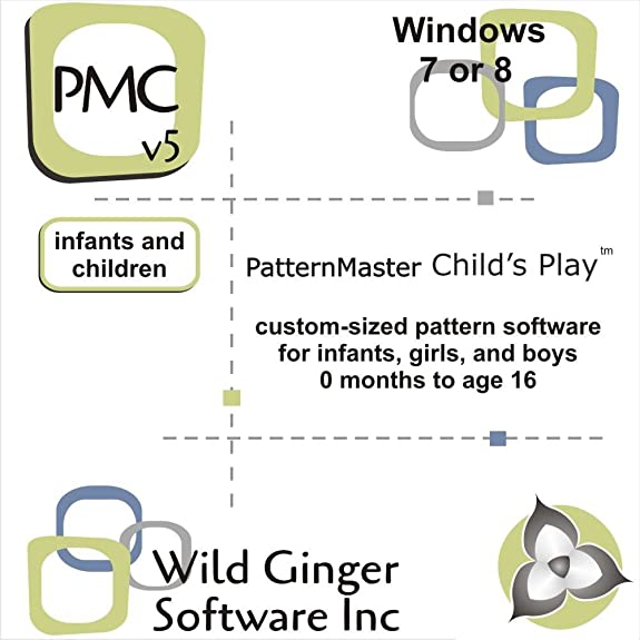 Amazon.com: PatternMaster Child\'s Play v6 Sewing Pattern Software ...