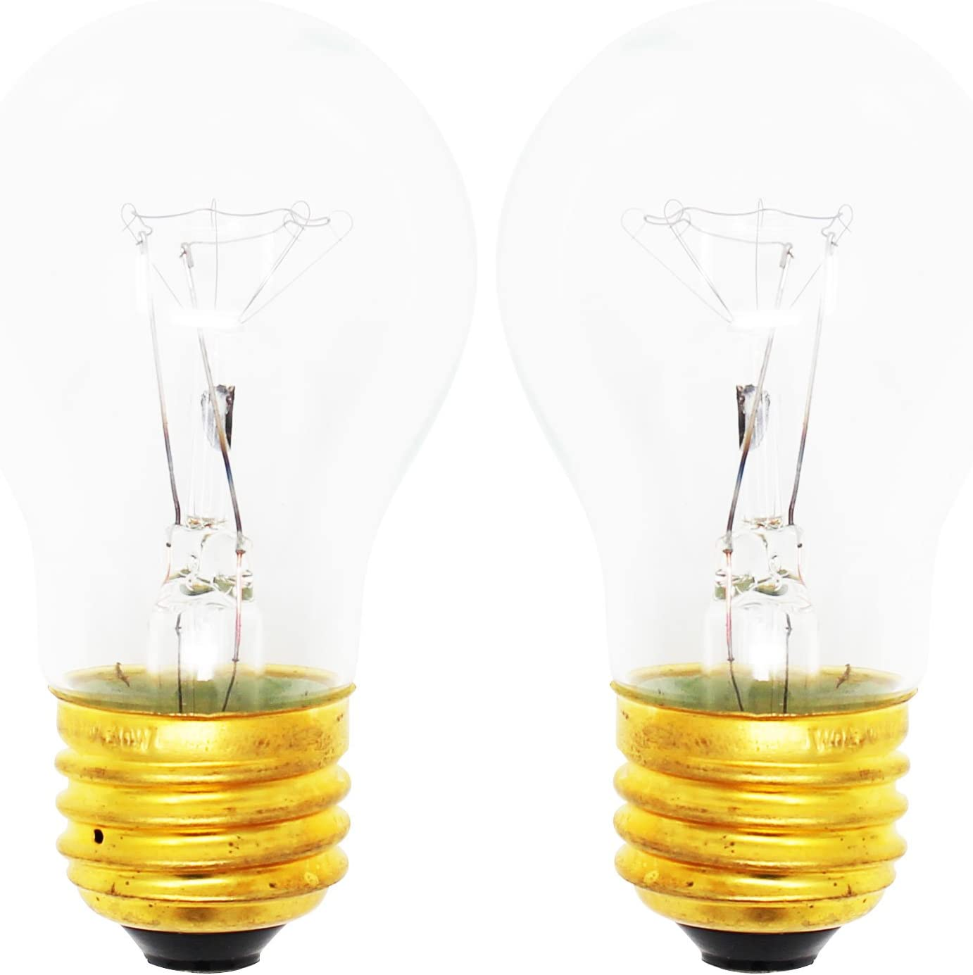 2-Pack Replacement Light Bulb for Magic Chef CTB1722GRW - Compatible Magic Chef 8009 Light Bulb