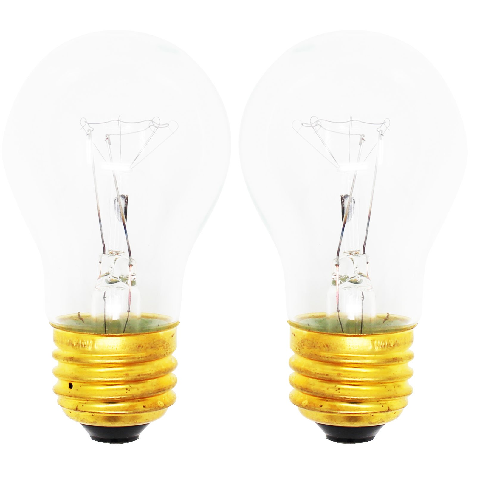 2-Pack Replacement Light Bulb for Amana AOGD2750SS - Compatible Amana 8009 Light Bulb