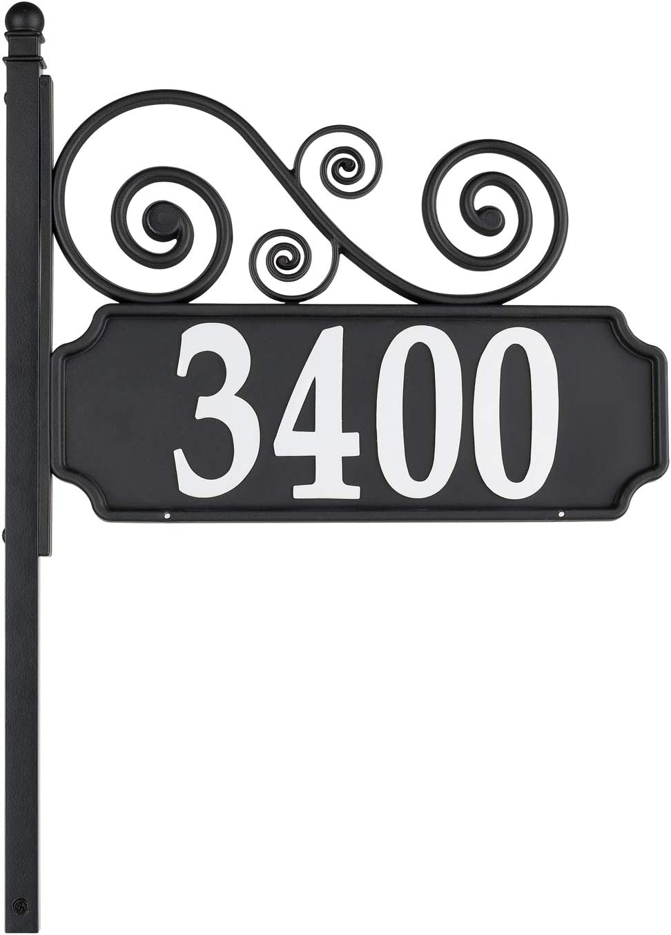 House number sign engraved 150mm x 100mm Arcrylic/&wood