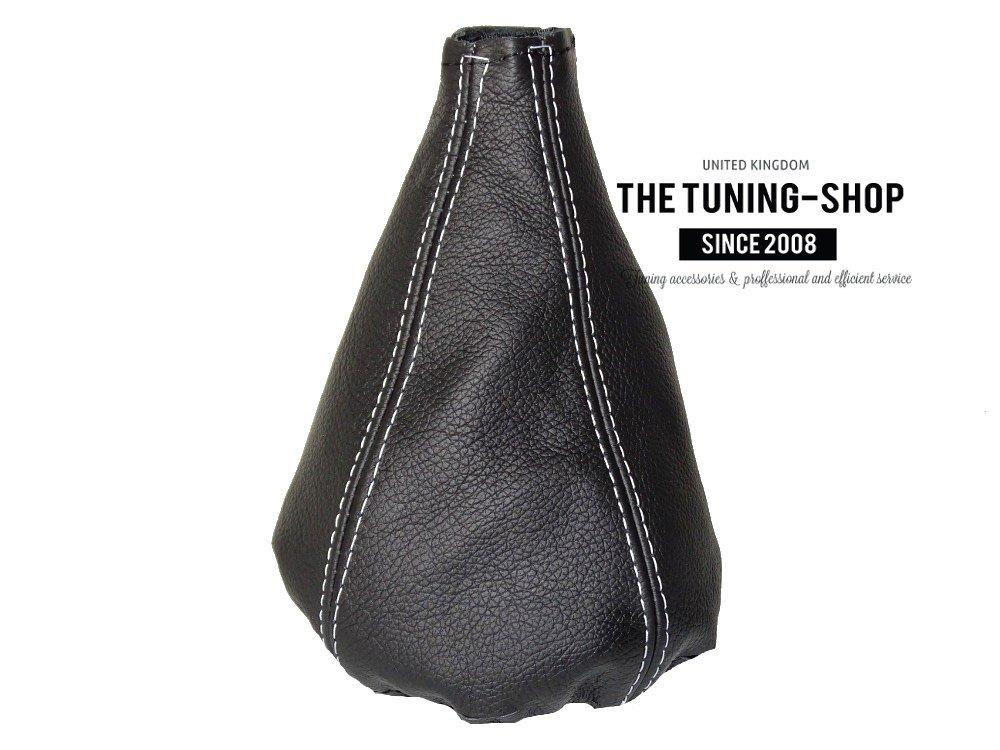 The Tuning-Shop Ltd Gear Stick Gaiter Black Genuine Leather