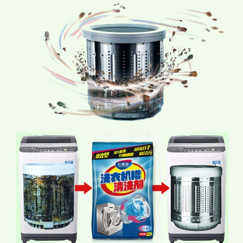 Washing Machine Tank Cleaner Detergent, Machine Tank descaler deep Cleaning Machine Deodorant Durable (90g)