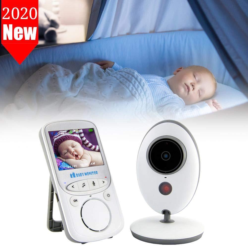 Funci/ón de Vigilancia de la Temperatura Modo VOX Alcance de 960 pies ZSLGOGO Camara Vigilancia Bebe Inal/ámbrico Monitor para Beb/és con LCD 2.4 y C/ámara Visi/ón Nocturna