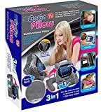 As Seen on TV GoGo Pillow, Tablet Protector Pillow, Grey - Geniune Product from