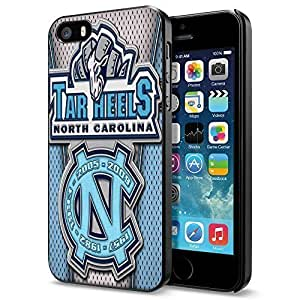 NCAA NC University of North Carolina Tar Heels #4Cool iPhone 5 5s Smartphone Case Cover Collector iphone Black