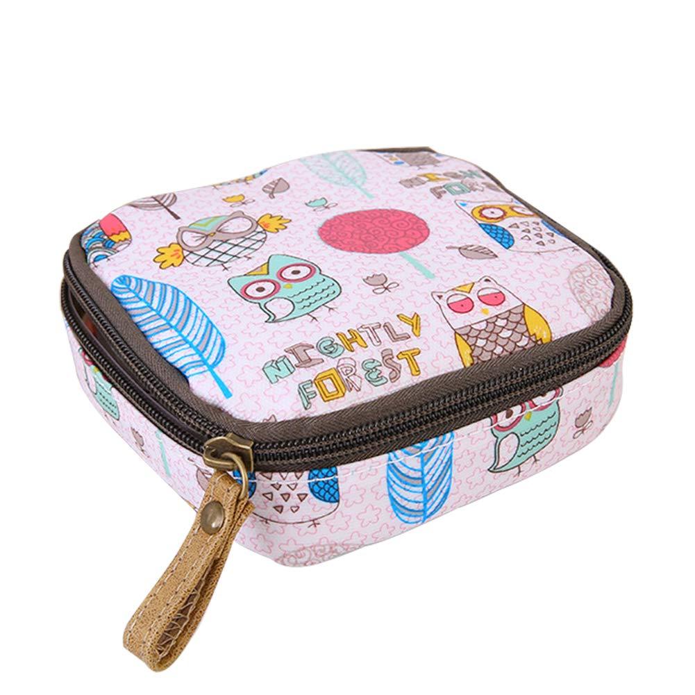 ccfc9cd1bb42 Amazon.com: Joyfeel buy 1Piece Zipper Purse Fox Pink Ladies Small ...