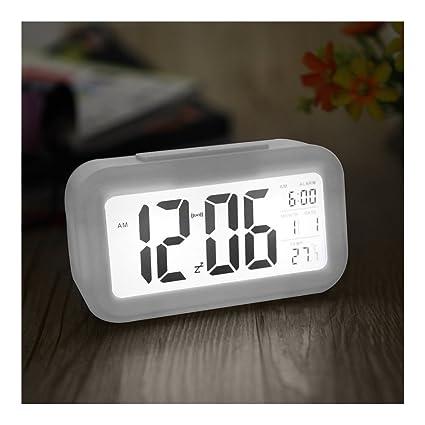 cf42c8cfc5f Dizionario Table Clock Digital Alarm With Sensor On Off  Amazon.in ...