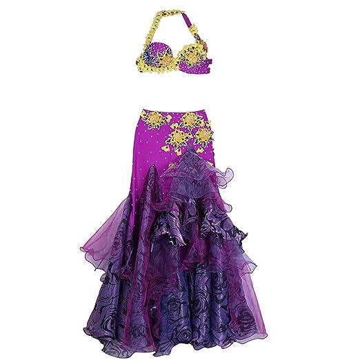 Disfraz de Danza del Vientre Belly Dance Costume Mujeres ...