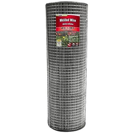Amazon.com : YARDGARD 309214A 48 inch by 100 foot 14 gauge 1 inch by ...