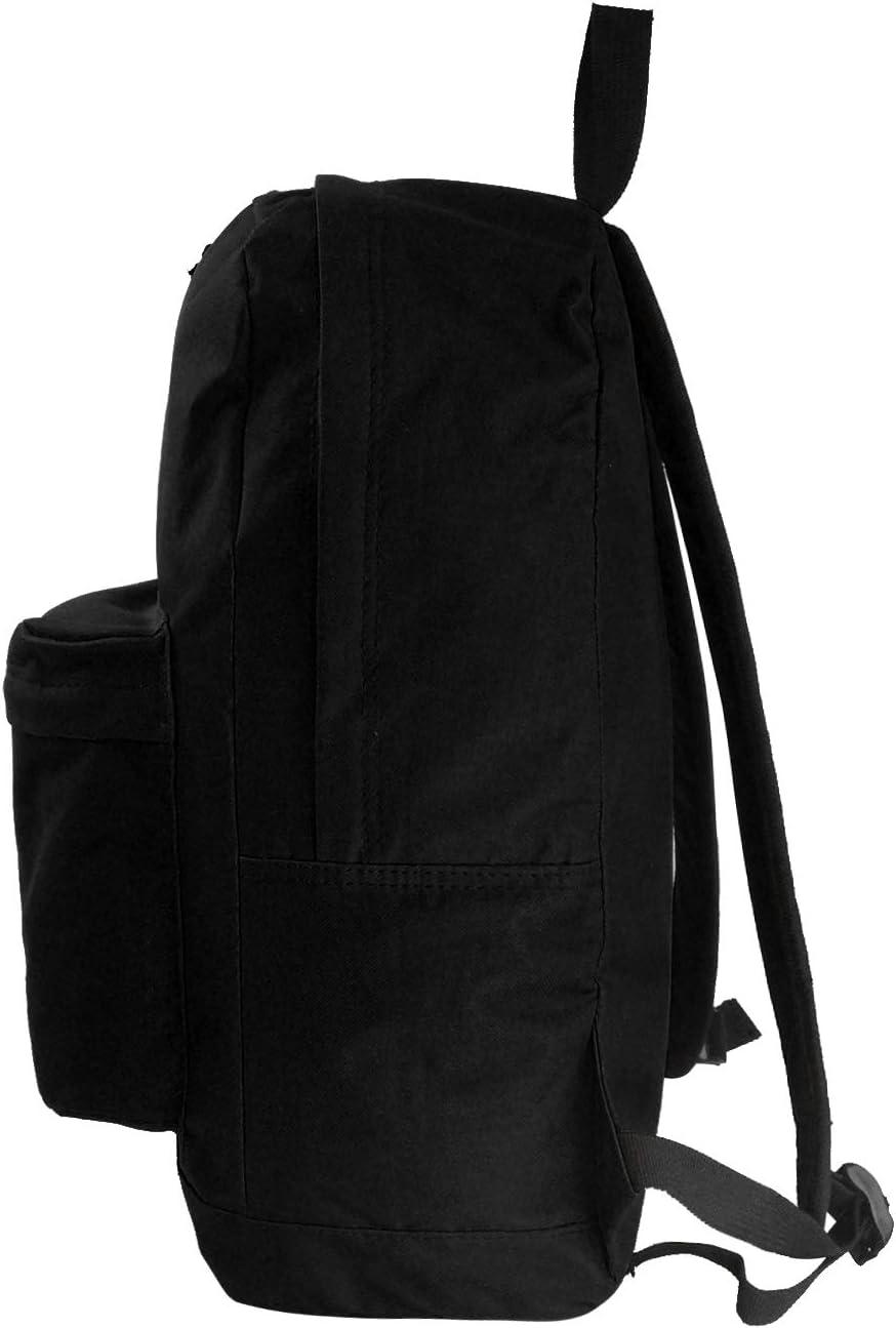 Classic Backpack Wholesale 18 inch Basic Bookbag Bulk School Book Bags 36pcs Lot