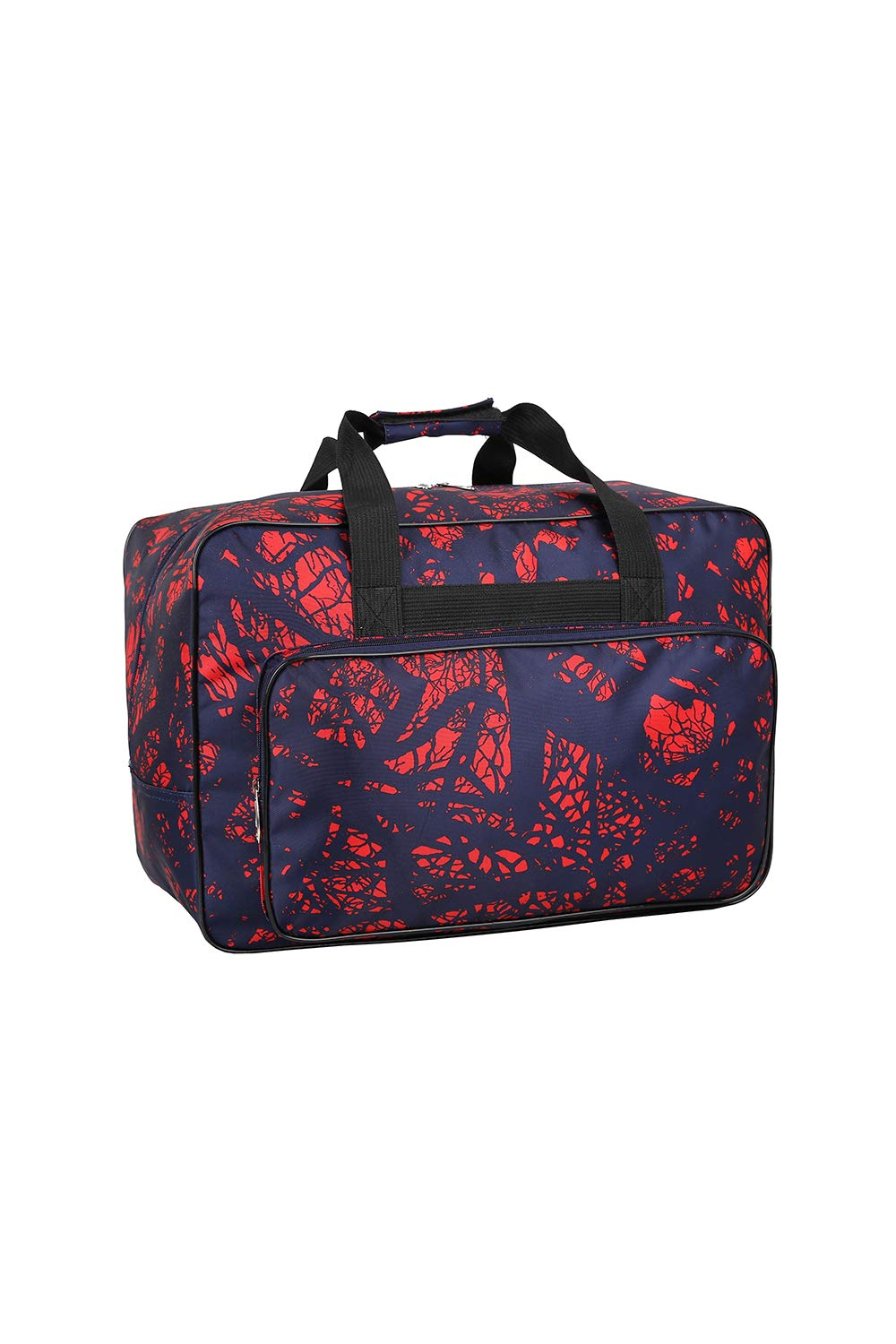 Sewing Machine Carrying Case Tote Bag,Padded Storage Cover Carrying Case with Pockets and Handles ,Canvas Orange