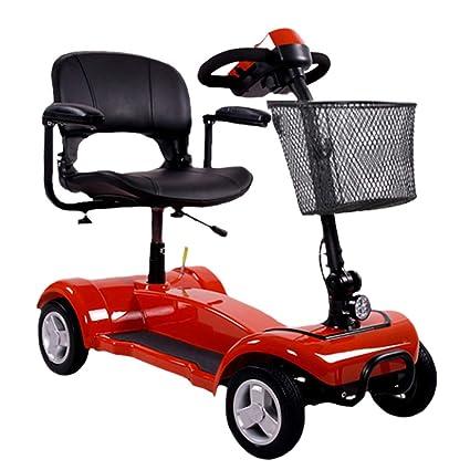 Powered Movilidad Scooter Senior Inteligente Eléctrico Móvil Silla de Litio Batería de Cuatro Ruedas de Larga