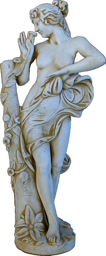 DEGARDEN Figura Estatua Flor Decorativa para jardín o Exterior ...