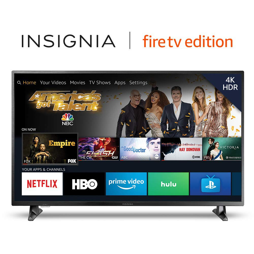 Amazon.com: Insignia NS-50DF710NA19 50-inch 4K Ultra HD Smart LED TV HDR - Fire Edition: Electronics