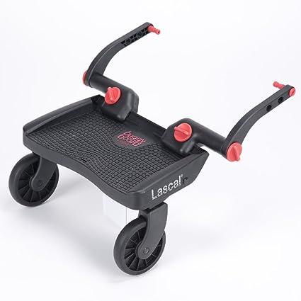 Lascal Buggy Board - Miniplaca con ruedas para carrito de bebé