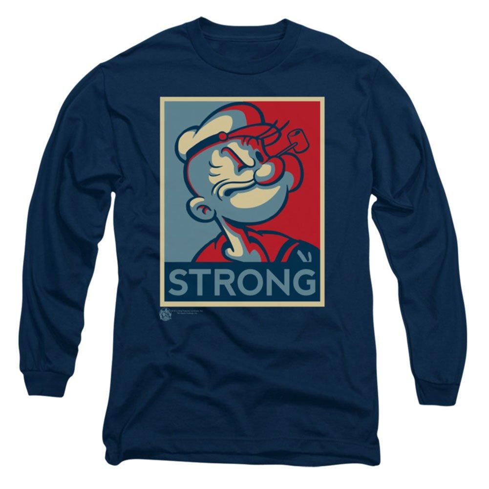Popeye The Sailor Man Cartoon Character Strong Adult T Shirt