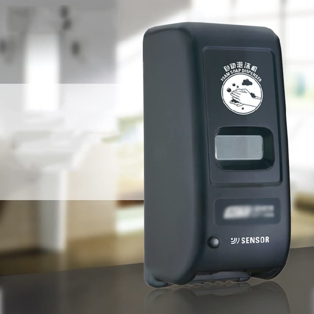 AOZBZ Dispensador de jab/ón de Manos sin Contacto 700ml Dispensador autom/ático de jab/ón con Sensor IR de Montaje en Pared Bomba de loci/ón de jab/ón de Cocina sin Contacto para ba/ño de Cocina