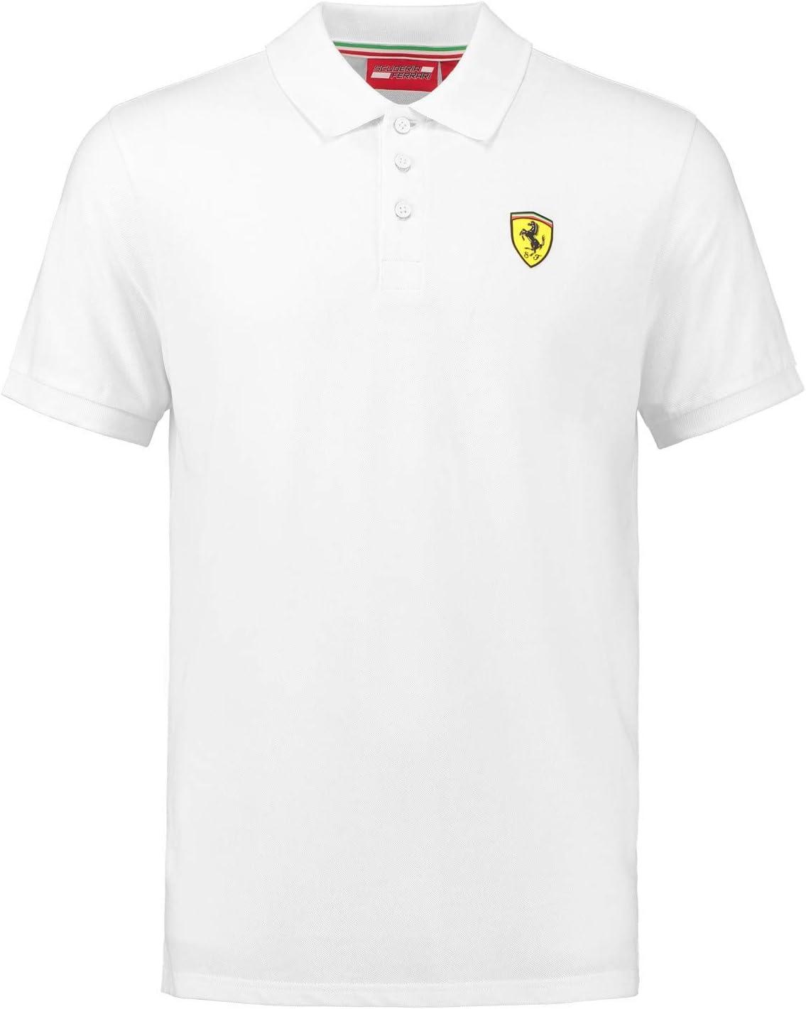 Ferrari 2018 Scuderia - Polo para Hombre (algodón, Tallas XS-XL ...
