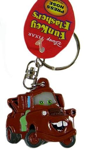 Disney Pixar Cars Keychain Matter Key Ring Zipper Pull Toy Toy