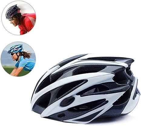 HAMHIN Equipo de protección Deportiva/Casco para Bicicleta/Casco para Bicicleta de montaña/Casco Deportivo para Adultos/Casco Deportivo para Carreras al Aire Libre/Casco de Ciclismo,M: Amazon.es: Deportes y aire libre
