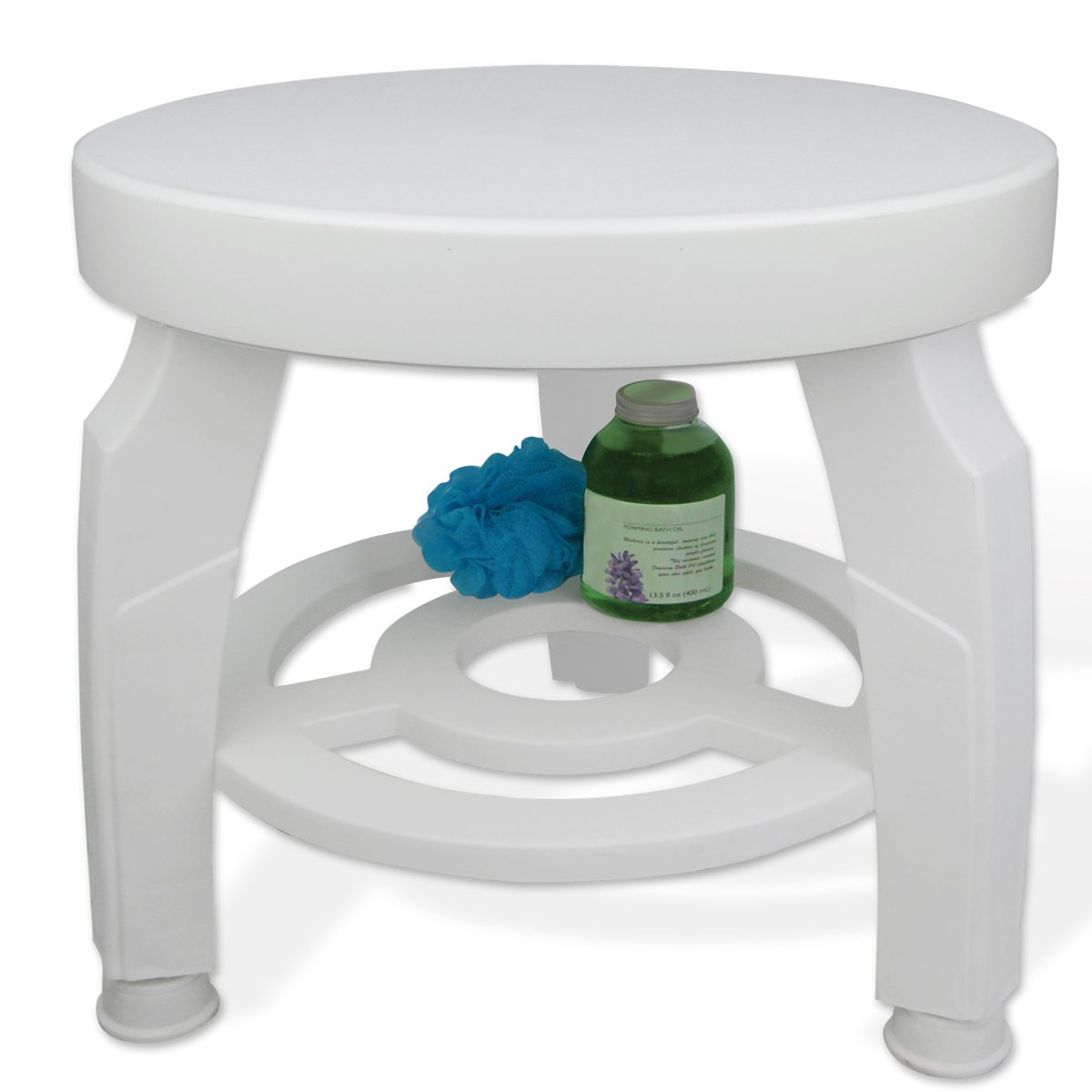Amazon.com: Ideaworks JB5596 Swivel Shower Stool: Health & Personal Care