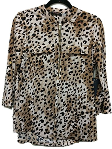 cheetah print dress shirt - 6