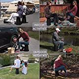 LandGarden Retractable Folding Stool for Camping