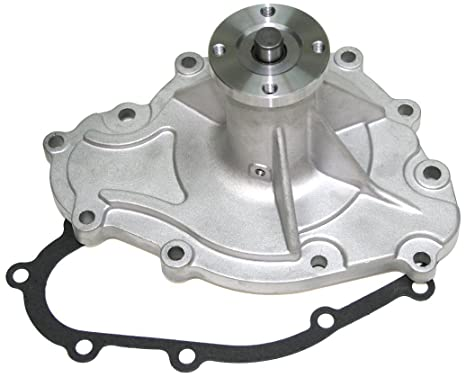 PRW 1445500 Performance Quotient As-Cast 5//8 Pilot Shaft High Flow Aluminum Water Pump for Pontiac 265-455 1969-79