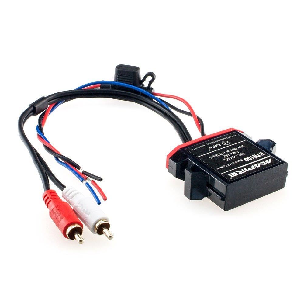 AMPIRE BTR100 universal Bluetooth-Adapter zum Musikstreaming mit Auto-Remote (wasserdicht) perfekt fü r Kfz / Auto / Home Hi-Fi / Boot / Marine