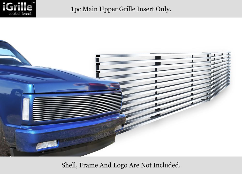 APS Fits 91-93 Chevy S10//Blazer 91-94 Jimmy Phantom Stainless Chrome Billet Grille #C85232S