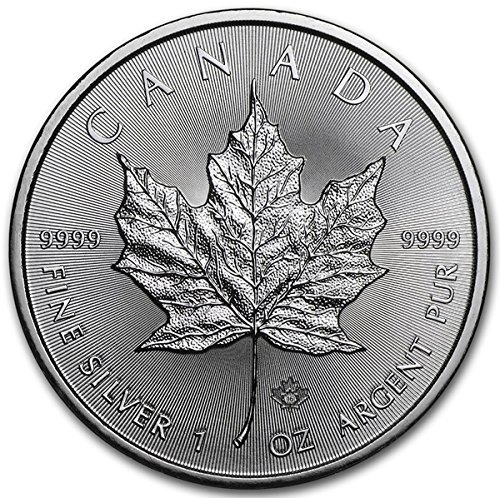 2016 CA Canadian 1 oz Silver Maple Leaf Coin 9999 $5 Brilliant Uncirculated New