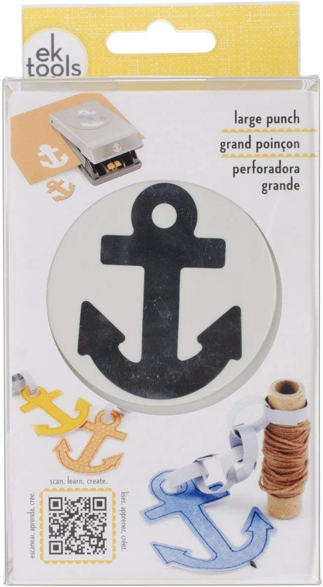 NEW EK Tools Paper Punch Large Anchor FREE SHIPPING