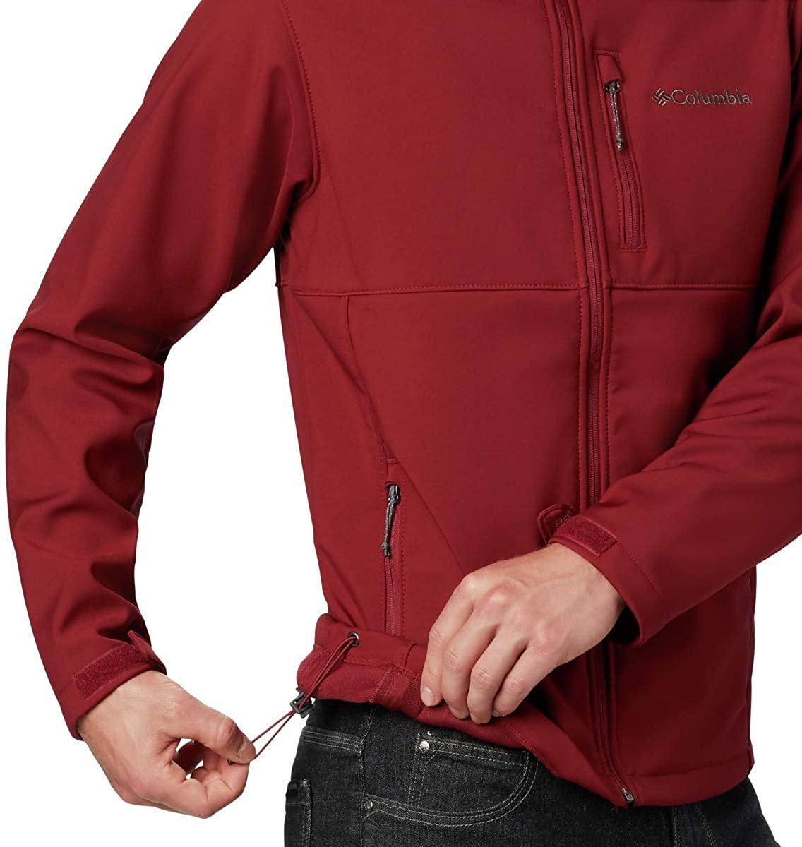 Water /& Wind Resistant Jacket Columbia mens Ascender Softshell Jacket