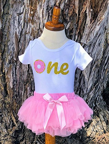 e4c056c6d6 Donut Bodysuit - Oh Donut - 1st birthday - first birthday - sprinkles -  Doughnut - donut birthday outfit - first birthday girl outfit - pink and  gold ...