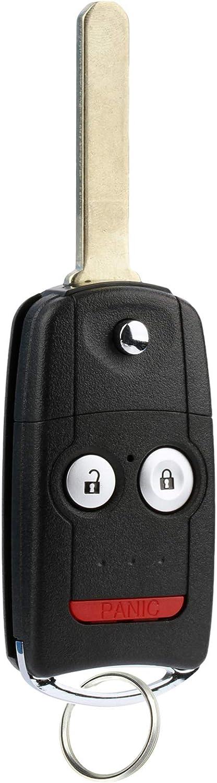 For 07-13 Acura MDX 07-13 RDX Keyless Entry Remote Flip Key Fob N5F0602A1A 3248A-0602A1A