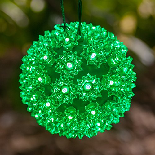Christmas Sphere Lights For Outdoor Trees - 3