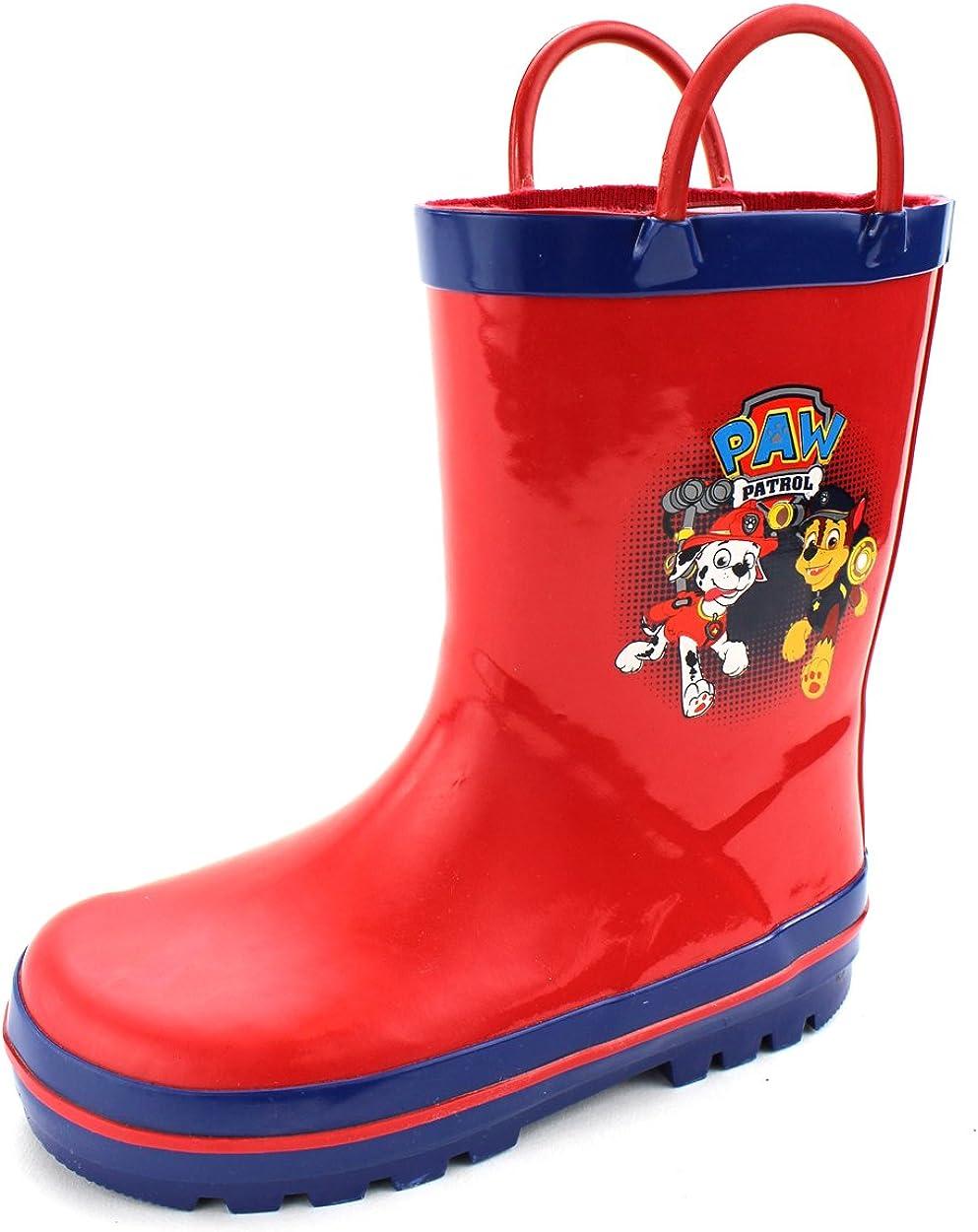 Amazon.com | Paw Patrol Kids Rain Boots
