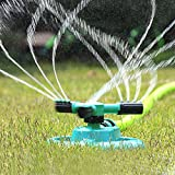 Cheap Lawn Sprinkler, UNIFUN Garden Sprinklers Water Entire Lawn And Garden Without Oscillating Systems Waste