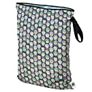 Planet Wise Wet Diaper Bag, Carnival Skulls, Large