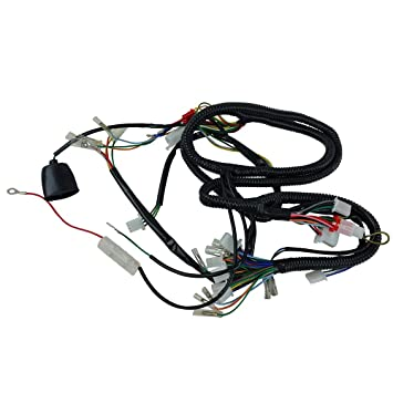amazon com chinese gy6 150cc wire harness wiring assembly GM Wiring Harness