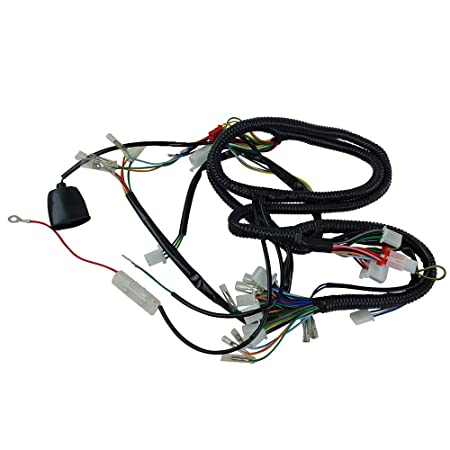 Amazon Com Chinese Gy6 150cc Wire Harness Wiring Assembly Scooter