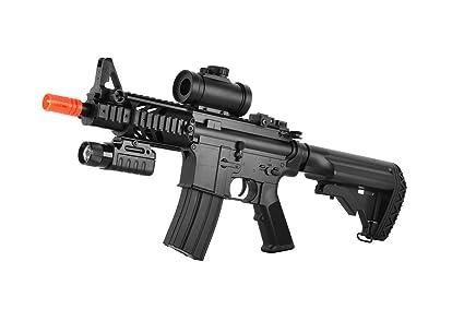 Amazon.com: ASG DS4 CQB M4 AEG Airsoft rifle con Red Dot ...