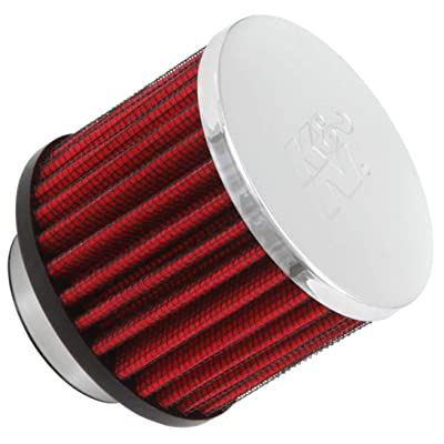K&N Vent Air Filter/ Breather: High Performance, Premium, Washable, Replacement Engine Filter: Flange Diameter: 1.5 In, Filter Height: 2.5 In, Flange Length: 0.4375 In, Shape: Breather, 62-1460: Automotive