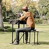 Goplus Portable Shooting Table Seat Set, Deluxe