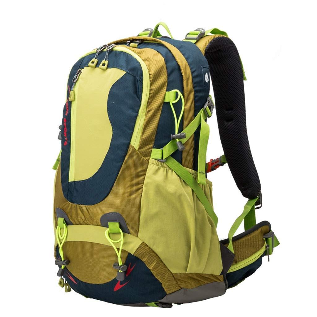 アウトドアショルダー40L登山バッグ軽量旅行クライミング防水バッグ大型アウトドアスポーツバックパック (色 : C)  C B07Q9QKKJD