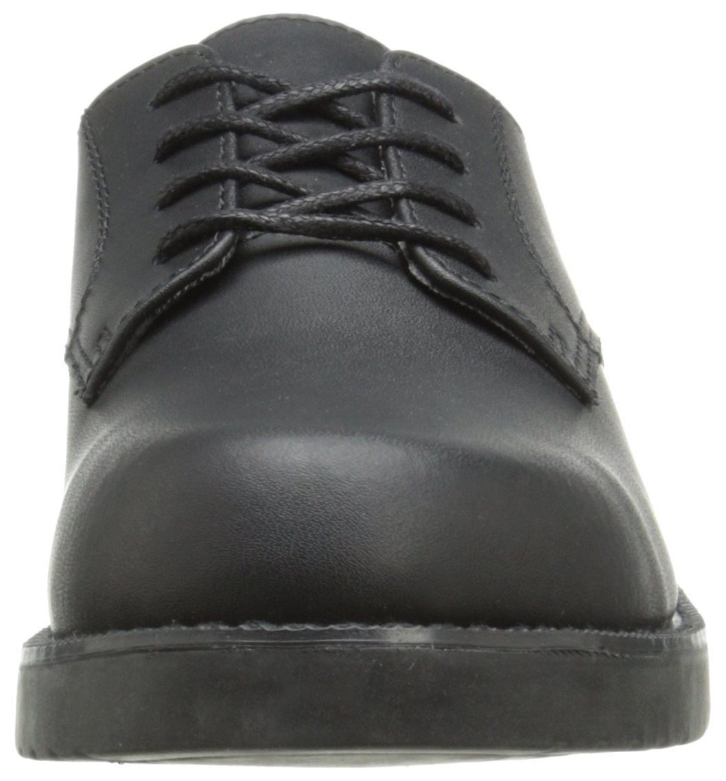 5076b47a979d School Issue Semester 6200 - Issue Zapato - Oxford 4882 para Niño Negro  804aa83. 100% cuero. Suela de Cuero y goma gamuza Buck fácil de limpiar
